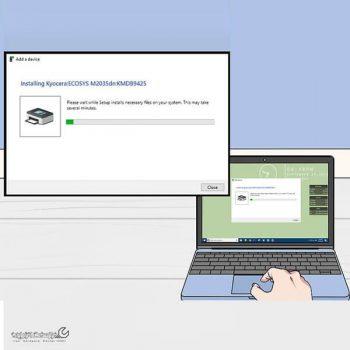 نصب پرینتر بدون سی دی درایور