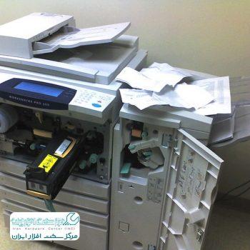 چروک شدن کاغذ در دستگاه کپی