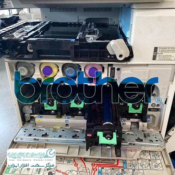 تعمیر قطعات دستگاه کپی برادر