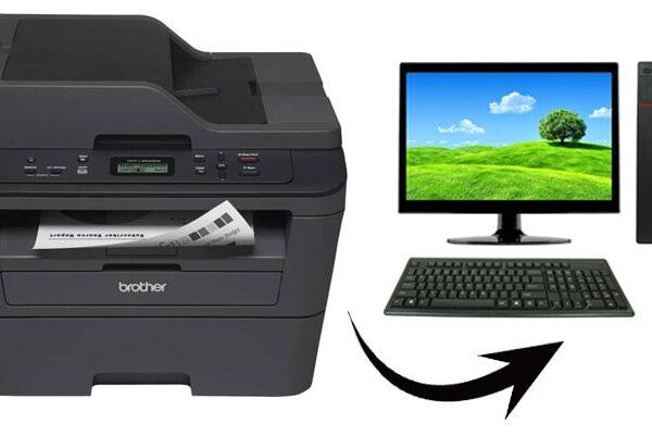 اتصال دستگاه کپی به کامپیوتر